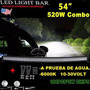 Barra Led Curva 54 Pulgadas, 4x4, Camioneta. Buggie, Razr.