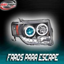 Faros Para Escape Con Tira De Led Mod. 2008 - 2012
