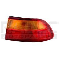 Calavera Exterior Honda Civic 92-93-94-95 4p Ambar/rojo Der