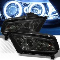 Faros Proyectores Ahumados Ford Mustang 2010 - 2014 V6 V8 Gt