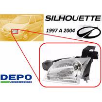 97-04 Oldsmobile Silhouette Faro Delantero Izquierdo Depo