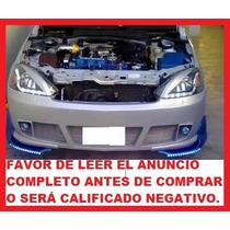 Faros Leds Corsa Sport Tuning Fondo Negro