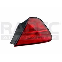 Calavera Honda Accord 98-99-00-01-02 2p Rojo C/arnes Der