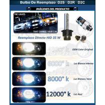 Bulbos Hid D2s D2r D2c Reemplazo Original Ó Upgrade Colores