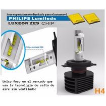 Foco Led Phillips 7000 Lumens H4 H1 H3 H7 H11 El Mejor Kit