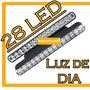 Drl Tuning Luz De Dia 28 Led Focos De Niebla Auxiliar Hm4