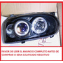 Faros Golf A3 Lupas Angel Eyes Deportivos Tuning Sport