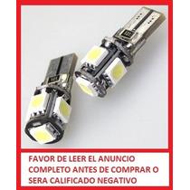 Leds Pellizco T10 Vela Can Bus Elimina Error