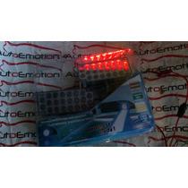 Faros Estrobos De Patrulla 22 Leds Rojo Azul