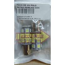 Focos De Un Polo Patas Parejas Con 18 Leds Smd 245751