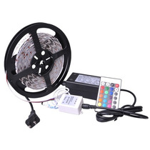Kit Completo Rollo Tira 300 Led Rgb 5050 5 Metros