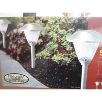6 Lamparas Solares Para Jardin O Exterior Autorecargables