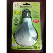 Ahorra Hasta 85% De Luz Energia Con Foco Led Consume 7 Watts