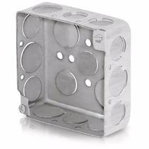 Caja Chalupa 4 X 4 Pulgadas Cuadrada 4x4 Acero Voltech 46321
