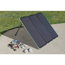 Kit Panel Solar De 45 Wts De Enegia Con Luces De Emergencia