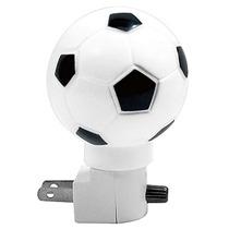 3 Lamparas De Noche 7 Watts Forma D Balon De Futbol Soccer