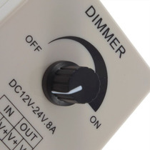 Dimmer Atenuador De Luz Led Foco O Tira, 12 O 24 Volts.