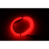 Cable Luminoso Tunning Led El Wire Hilo Neon Para Ropa