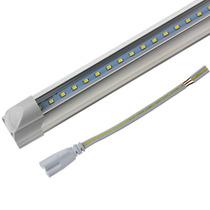 Lampara Led T5 De 9w Transparente Luz Blanca Con Base B42615