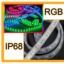 Kit Tira 5050 300 Led Rgb Ip68 Sumergible Fuente 5m Contr 44