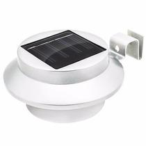 Lámpara Energía Solar Luz 3 Leds Exteriores Automatica