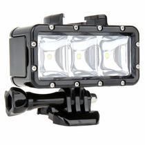 Lampara Sumergible Led / Waterproof Video Light Para Gopro