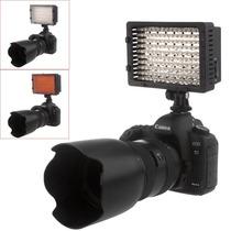 Lámpara 160 Led Dslr - Con 2 Filtros - Temperatura Ajustable