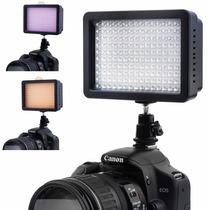 Lampara Led 160 Para Video Con Difusores Profesional