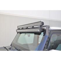 Porta Barras Doble De Leds Completa Para Jeep Jk 2007-2016