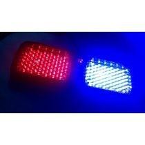 Estrobos Vicera Leds Codigo Azul Rojo Patrulla Auto