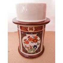 Portavela Precioso Oriental China Retro Vintage Souvenir