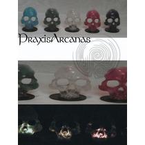 Lámpara De Cráneo Transparente. Mn4