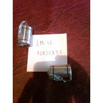 Rodamiento Lineal Lm16 Uu 16x28x37