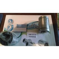 Rodamiento Lineal Lme25 Uu 25x40x58