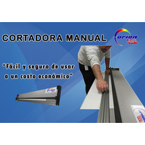 Cortador Manual Económica Orioncut P/cartón, Pvc, Vinil, Etc