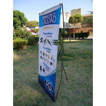 Porta Banner X .80 X 1.80 Display