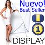 Porta Banner Display Lona, Calidad Y Presentación 250x120 !!