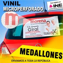 Vinil Microperforado, Urgente, Lona, Campañas Políticas