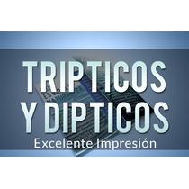 Tripticos, Dipticos, Folletos Publicitarios, Y Mas