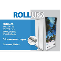Roll Up, Display, Retractil, Banner. .60 X 1.70