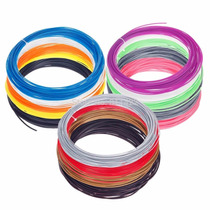 100m Filamento Abs 1.75mm Pluma3d O Printer 8 Colores Dif