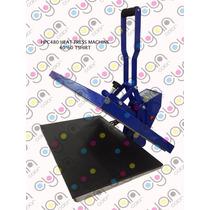 Plancha Sublimar Playera 40x60 Trabajo Pesado Doble-tabloide