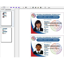 Programa Impresion De Credenciales Pvc