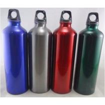 Botella Sport De Aluminio 750 Ml Por Caja, 48 Pzas