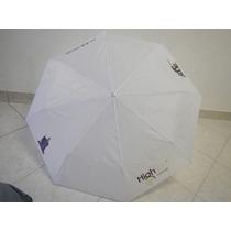 Sombrilla Personalizada Blanca Por Sublideas