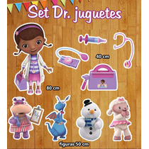 Figuras Coroplast Dr Juguetes