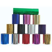 Foil Para Hot Stamping. Rollo De 75mm X 120m Muchos Colores