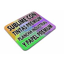 Plancha Sublimacion,su Insumo,mouse Pad, Personaliza Moritzu