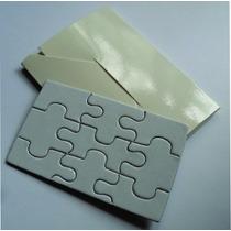 Rompecabezas Puzzle Card Tarjeta Con Sobre Sublimacion 40 Pz