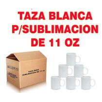 Taza Para Sublimacion 11oz Extra Blanco